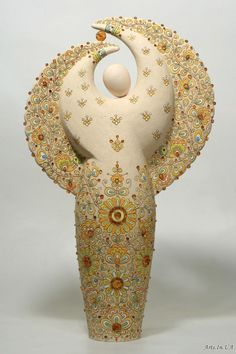 Alena S. Kozak Ceramic Angel
