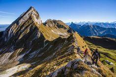 Autumn hike in the Gantrisch region, Bern Prealps, Swiss Alps
