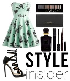 """"" by onegirl727 ❤ liked on Polyvore featuring Jimmy Choo, Michael Kors, Forever 21, Marc Jacobs, Gucci and Keiko Mecheri"