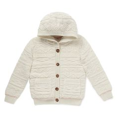 StayNEW Pure Cotton Chunky Cardigan from M&S.