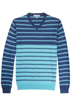 Lyle and Scott Club Striped Jumper
