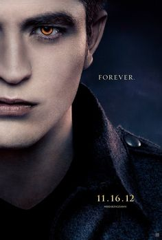 Robert Pattinson stars as Edward in 'The Twilight Saga: Breaking Dawn - Part 2'