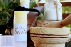 Homemade Hand and Foot Balm  *make this one *