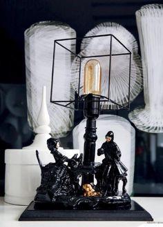 Lamp Histoire Noir - Residence Februari 2015