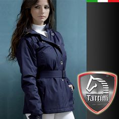 The Tattini Ladies Trench Montenero inspired by the design of the urban trench but with all the features of an up to date modern jacket