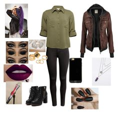 """""""Untitled #103"""" by sandra-payne-guadarrama on Polyvore featuring H&M, Sonix and Pieces"""