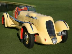1935 Duesenberg Mormon Meteor Speedster. 1,570 cu in (26 l) Curtiss Conqueror 750 hp (559 kW) V12. The Mormon Meteor I and III were two land speed record cars built in the 1930s