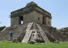 Temple of the Seven Dolls, Dzibilchaltun, Mayan Ruins, Mexico, August 2011