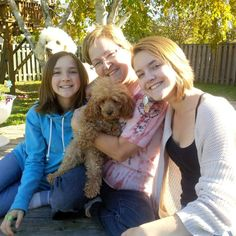 A lovely toy poodle named Amelia was with us from early September til the end of October 2014. This was our good bye photo! We love you Amelia Bedelia!