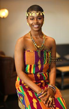 Beautiful African Women, Beautiful Black Girl, African Beauty, Dope Fashion, Royal Fashion, Ghana Culture, African Goddess, Traditional Wedding Attire, Africa Fashion