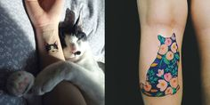 14+Impossibly+Cute+Cat+Tattoos+to+Show+Off+Your+Cat+Love+Forever  - Cosmopolitan.com