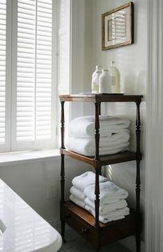 Repisa para las toallas