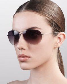 Oliver Peoples - Strummer Classic Aviator Sunglasses