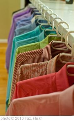 Organize a clothing swap for women or kids (or toy swap)