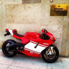The legendary Ducati Desmosedici RR only 1500 made! A road legal Moto GP bike.