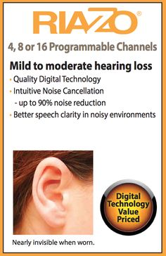 Zounds Riazo hearing aid- our most affordable digital hearing aid option