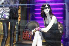#Dior, black corset #dress and #sunglasses
