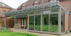 Aluminium Conservatories, Glass Rooms and Winter Gardens