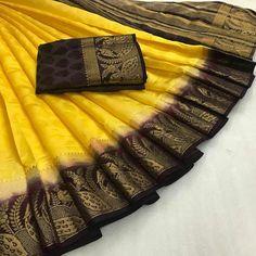 Kanjivaram Silk Saree,Festival, Party wear, Wedding Wear Saree,Fabric : Soft silk. Kanjivaram Sarees, Lehenga Saree, Bollywood Saree, Soft Silk Sarees, Cotton Saree, New Fashion Saree, Designer Sarees Online Shopping, Festival Wear, Festival Party