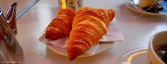 Tasty croissants at Café les Deux Moulins   Paris, Food