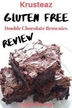 Krusteaz Gluten Free Brownies test taste. Gluten Free Brownies, Gluten Free Snacks, Gluten Free Recipes, Healthy Snacks, Cheap Dessert Recipes, Double Chocolate Brownies, Gluten Intolerance, Cheap Meals, Brownie Recipes