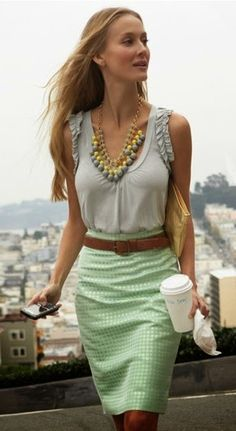Women's Business Fashion Trend http://ilovefreshfashion.blogspot.com