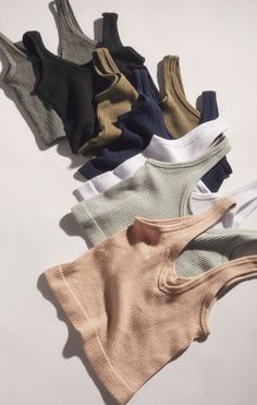 Shop Out From Under Drew Seamless Ribbed Bra Top at Urban Outfitters today. Summer Outfits, Casual Outfits, Cute Outfits, Fashion Outfits, Fashion Tips, Diy Fashion, Beautiful Outfits, Korean Fashion, Spring Fashion