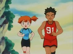 """32 Reasons Misty From """"Pokémon"""" Is The Very Best Pokemon Emolga, Pokemon Gif, Pokemon People, Pokemon Memes, All Pokemon, Pikachu, Misty From Pokemon, Pokemon Ash And Serena, Pokemon Breeder"""