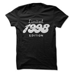 1998 Limited Edition B-day 18th Birthday T-Shirt Tee by TeeSpaceX