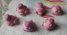 Pig Fimo for new year? :)