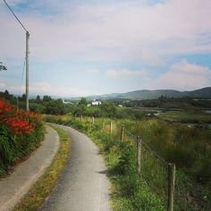 Road near Sneem, Ring of Kerry #Ireland
