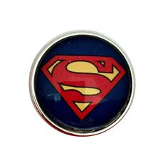 S-3021 Super Hero Snap 20mm for Ginger Snap-Noosa Snap-Chunk Snap Charm Jewelry by SimpleEleganceCole on Etsy