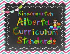 Alberta Kindergarten Curriculum I Can Posters from Lovely Literacy More on TeachersNotebook.com - (108 pages) - I Can kindergarten standards are listed for all the standards in the Alberta Kindergarten Curriculum: Language Arts, Math, Social Studies, Health, P.E. Kindergarten Curriculum, Literacy, Early Childhood, Social Studies, Language Arts, I Can, Homeschool, Posters, Teaching