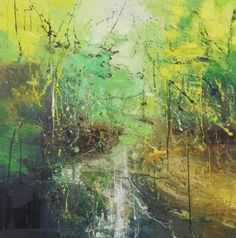 Claire Wiltshire - Beneath the surface 4 70x70cm