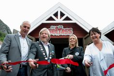 The opening of the Gratass Land tractor ride Norway 2014