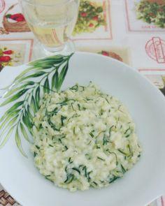 Risotto Agretti e Gorgonzola