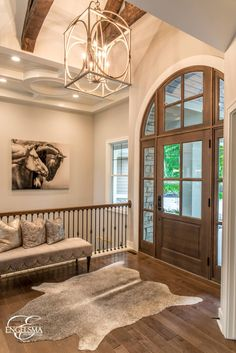 Engelsma Homes is an award-wining custom home builder in West Mi. Call us at for more information on our systems, processes and team. Dream Home Design, My Dream Home, Home Interior Design, Custom Home Builders, Custom Homes, Balustrades, House Entrance, Dream House Plans, House Goals