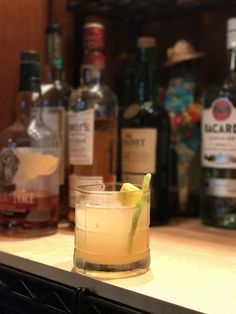 """Five Cocktails to Get You Through a California """"Winter"""" — AU & Co. blog. The Parks and Rec Cocktail"""