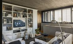 Con perspectiva Home Office, Deco, Decor, Furniture, Living Room, Home, Sala, Home Decor, Room