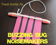 Buzzing Bug Noisemakers