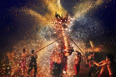 """Honk Kong National Award: """"Fire Dragon"""" by Chi Hung Cheung, 2nd Place, 2014 Sony World Photography Awards"""