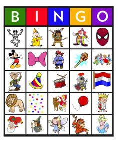 Feest: Bingo carnaval 15