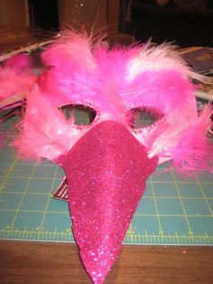 Flamingo Costume | dresses and desserts