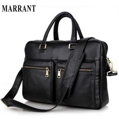 Cheap laptop handbag, Buy Quality men messenger directly from China genuine  leather bag Suppliers  Vintage Genuine Leather Bag Men Messenger Bags Cow  ... 84e308c8fc