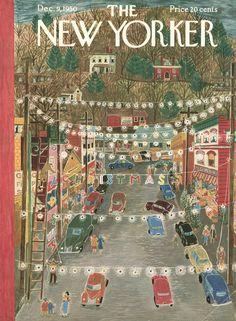 The New Yorker - Saturday, December 9, 1950 - Issue # 1347 - Vol. 26 - N° 42 - Cover by : Ilonka Karasz