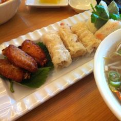 Sampler with VIetnam noodle