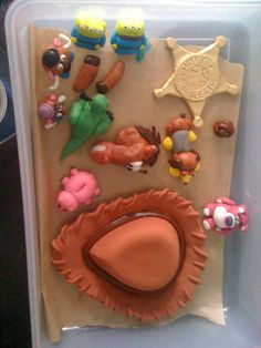 Sugar paste Toy story Characters