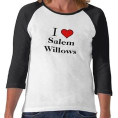 Ladies Salem Willows Baseball Style Shirts by Say_it_Loud