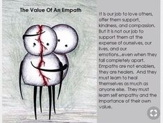 Empaths can allow people to deplete them when they fail to set limits. It's important to create boundaries and understand when someone wants to avoid their own inner work and instead tries to take the energy of others Empath Traits, Intuitive Empath, Psychic Empath, Highly Sensitive Person, Sensitive People, Empath Abilities, Infj Personality, Book Of Shadows, Introvert