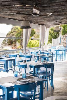 Il Riccio Restaurant & Beach Club - Anacapri, Italy - Photo by @gitlchefs